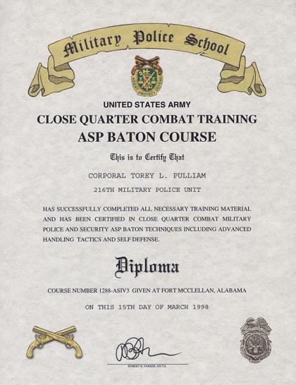baton asp certificate course combat close enlarge