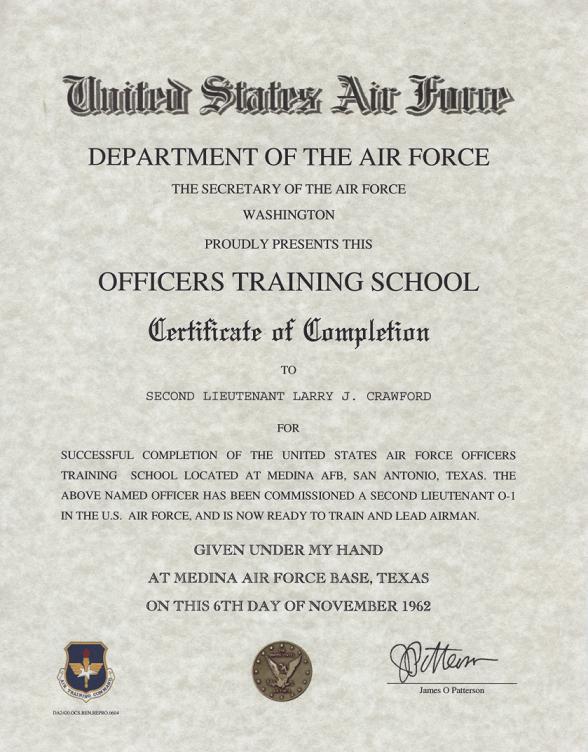 Officer Training School